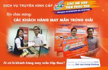 """HTVC chúc mừng những vị khách hàng may mắn đầu tiên trúng giải """"Cào mê say tiền trao tay"""""""