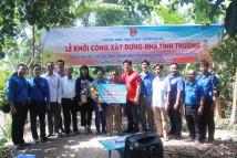 HTV-TMS hỗ trợ xây dựng nhà tình thương tại Hậu Giang