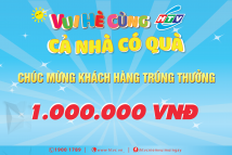 HTVC tặng quà khuyến mại cho 1.300 khách hàng