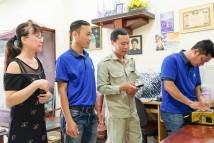 HTVC chăm sóc và tặng quà cho khách hàng tại Quận 8, 12, Bình Chánh và Tân Bình