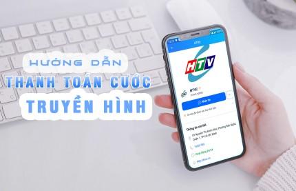Thanh toán cước Truyền hình HTVC bằng hình thức chuyển khoản Online