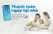 Thanh toán cước Truyền hình HTVC qua Ví điện tử Payoo