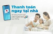Thanh toán cước Truyền hình HTVC qua Ví điện tử VnPay
