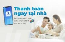 Thanh toán cước Truyền hình HTVC qua Ví điện tử VNPT Pay